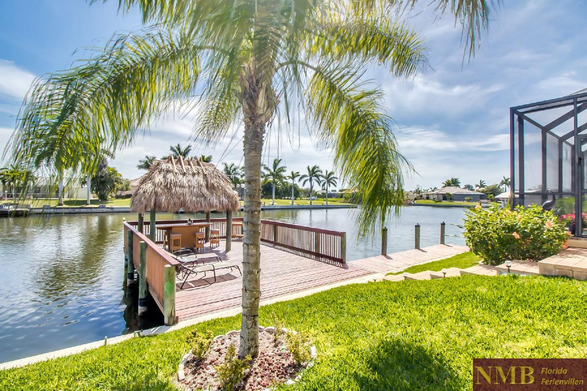Ferienhaus-Sea-Pearl-Cape-Coral_Back_Yard