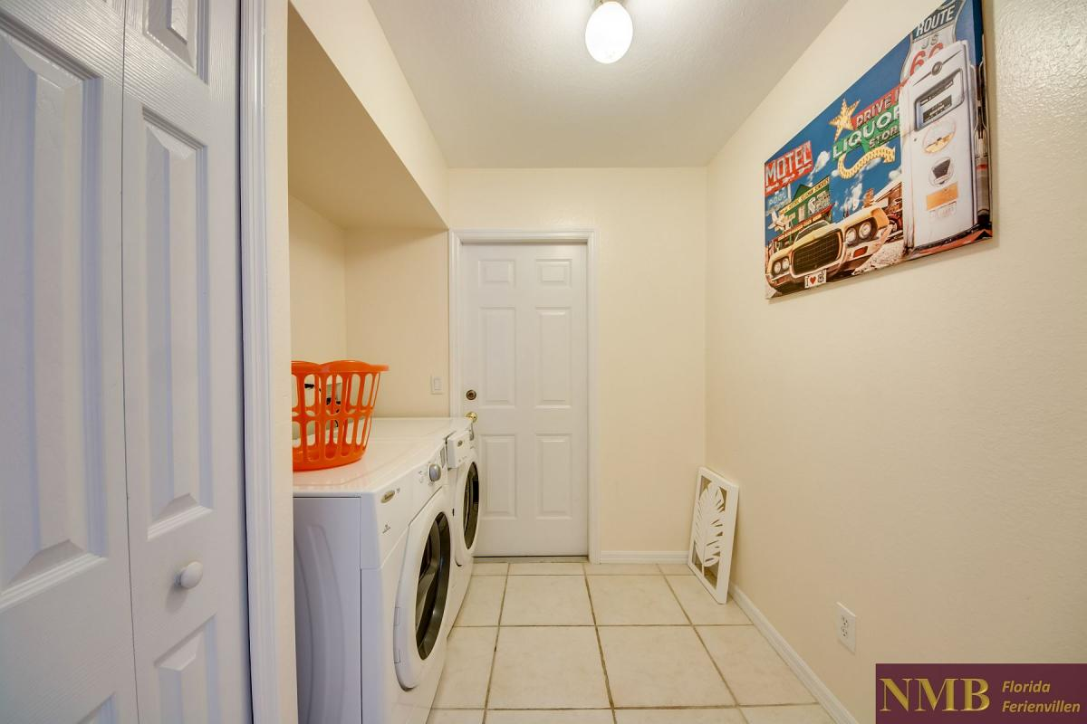Ferienhaus-Florida-Orange-Blossom_Laundry_Room